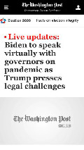 Frame #3 - www.washingtonpost.com/elections/2020/11/19/joe-biden-trump-transition-live-updates