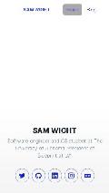 Frame #4 - samwight.dev
